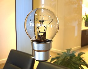 Incandescent Lamp 3D print model