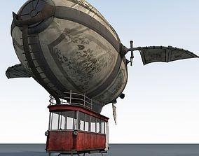 Zeppelin interior 3D model