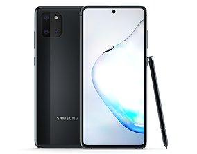3D Samsung Galaxy Note 10 Lite Aura Black