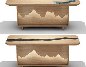 3D furniture Tea table