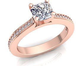 rings Diamond Ring 3d Model Print