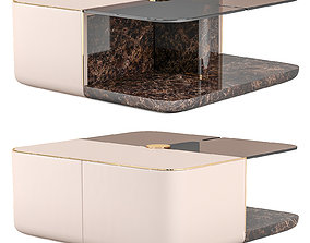 3D model Turri ECLIPSE Rectangle coffee tables