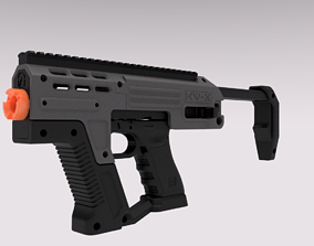 Conversion Kit for Glock G17 or G18c GBB 3D print model