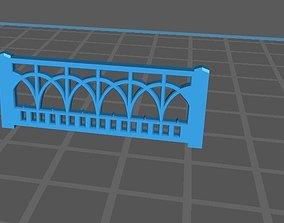 3D print model fence