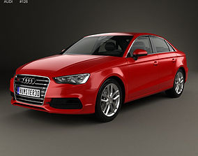 3D model Audi S3 2013