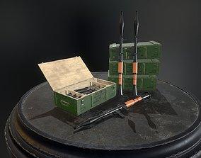 RPG-7 Rocket-Launcher 3D asset low-poly