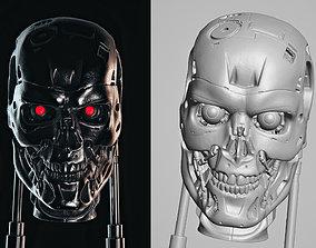 Terminator T-800 Endoskull Scan 3D