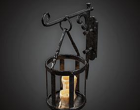 Wall Candle Lantern - MVL - PBR Game Ready 3D asset