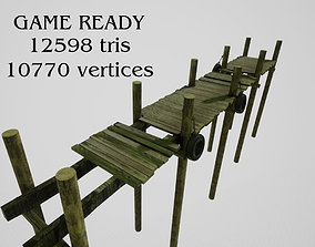 3D model Jetty for boats