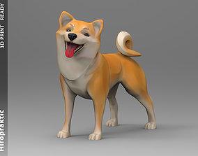 3D printable model Dogy Shiba-inu statuette