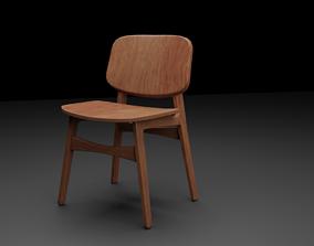 3D Fredericia Soborg Chair
