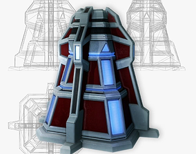 3D asset Force field generator 07 sci-fi