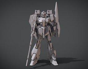 Zeta Gundam 3D print model