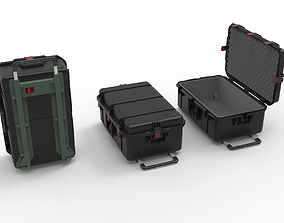 set of Box-Military Case Pelican 3D