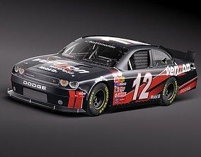 NASCAR 2010 Dodge Challenger 3D Model