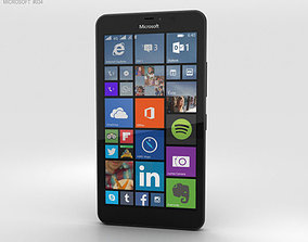 3D model Microsoft Lumia 640 XL Black