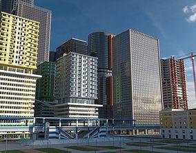 Cityscape00 3D