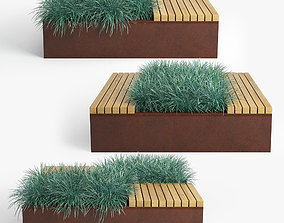 3D model Flowerbed nature