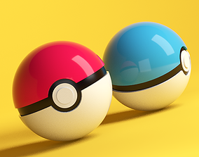 Pokeball 3D fan-art