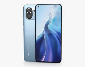 Xiaomi Mi 11 Horizon Blue 3D