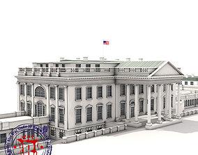 White House complex 3D model