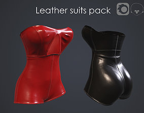 3D Leather suits pack