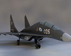 3D Mikoyan Mig-29 jet