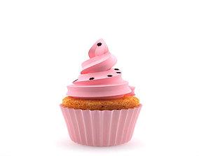 cupcake 3D food