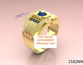 Men ring- jewelry 3d