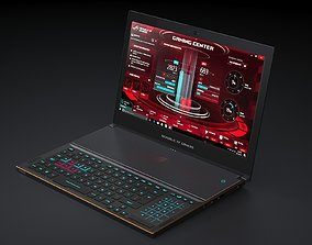 Asus ROG Zephyrus GX501 Gaming Notebook 3D model