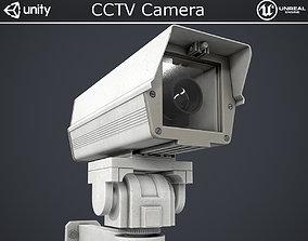 CCTV Camera 3D model low-poly