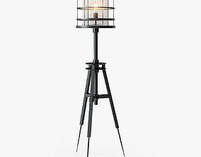 Holly Hunt Surveyors Floor Lamp 3D model