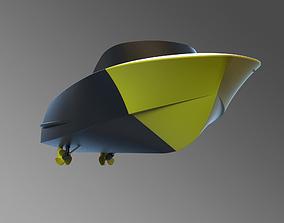 3D print model rc boat RIVA
