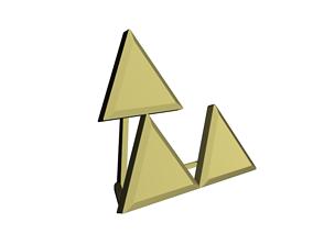 3D printable model Triforce Meme