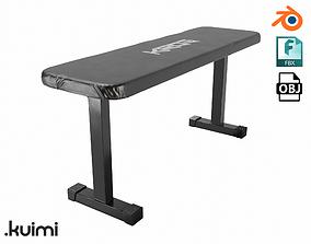 3D Gym Bench 001