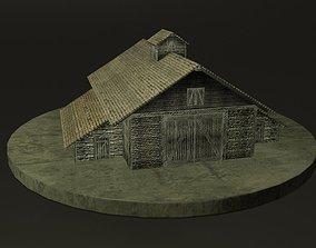 Farm Barn 3D asset realtime
