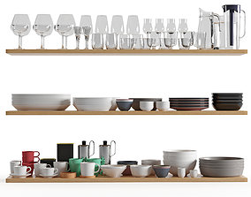 Kitchenware and Tableware 01 3D