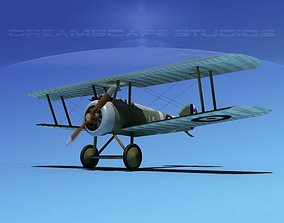3D rigged Sopwith Camel