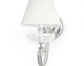 Crystal Wall Lamp Solo 3D model