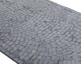3D asset Cobblestone Rock Road Scan