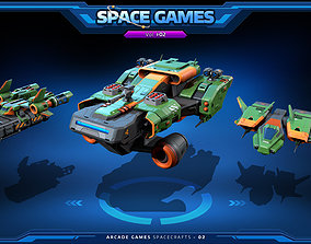 3D asset RTS - Space Games Vol - 02