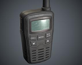 Radio Mobile Black 3D model