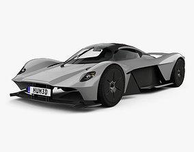 3D model Aston Martin Valkyrie 2018