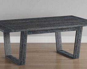 3D Skyline Gray Dining Table