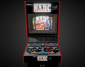3D asset Narc Arcade Machine