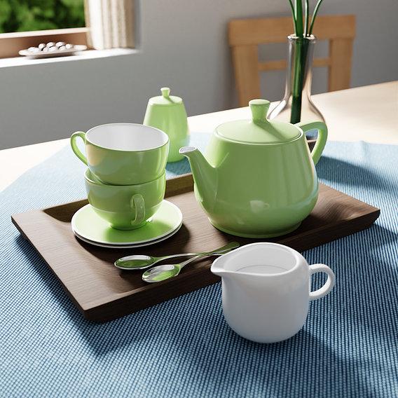 Utah Teapot scene