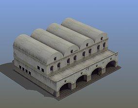 Grannary Building 3D asset
