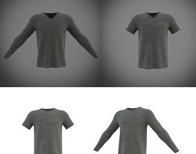 tshirts collection 3D model