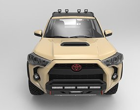 3D Toyota 4Runner 2018 TRD Pro edition with 4x4