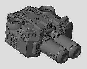 CHIBI-TECH SD - CHIMERA-C PBC-DUO 3D printable model 1